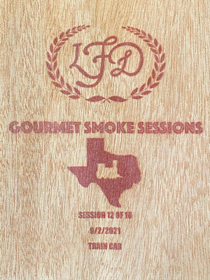 """el Tren de Texas"" Gourmet Smoke Session Train Car Exclusive"
