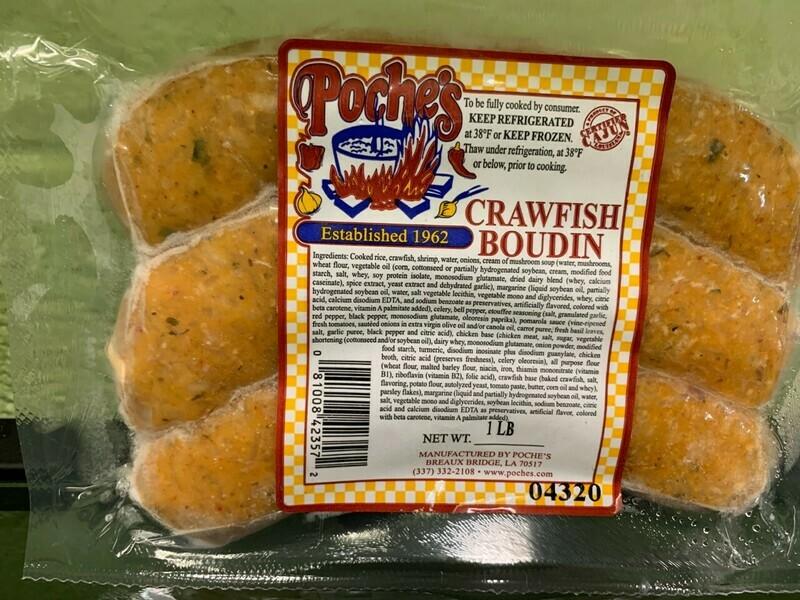 Crawfish Boudin