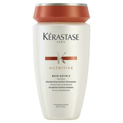 Bain Satin 2 Shampoo - Nutritive - 250ml
