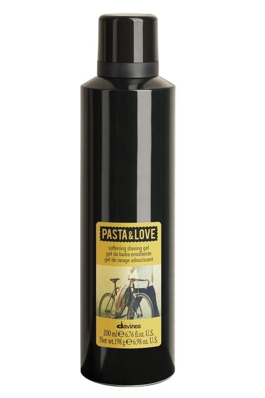 Softening shaving gel