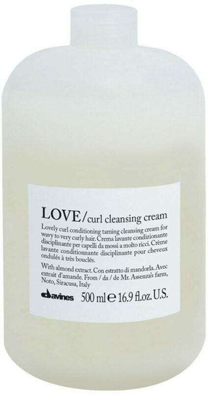 Curl cleansing cream