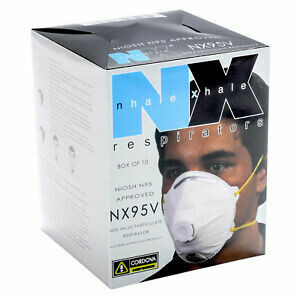 Cordova N95 Particulate Respirator Face Masks 10/box