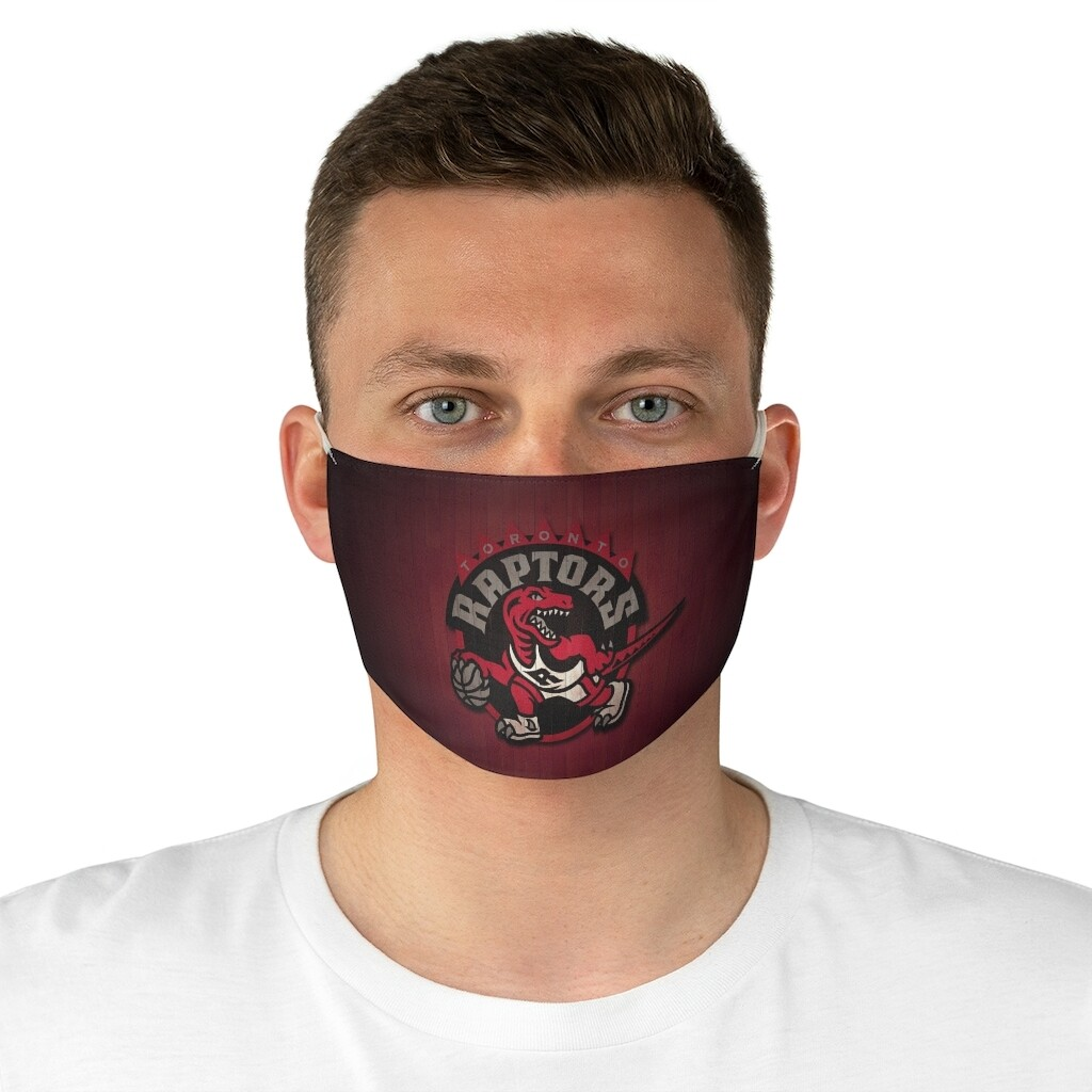 Toronto Raptors Fabric Breathable Fashionable Face Mask Reusable and Washable