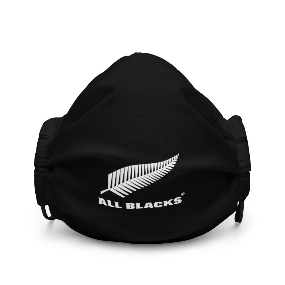 All Blacks Rugby Polyester Washable and Reusable Face mask