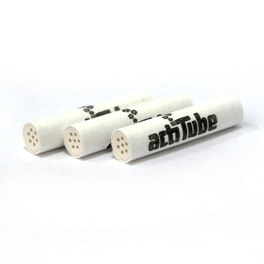 actiTube SLIM charcoal filters (not for pipes)