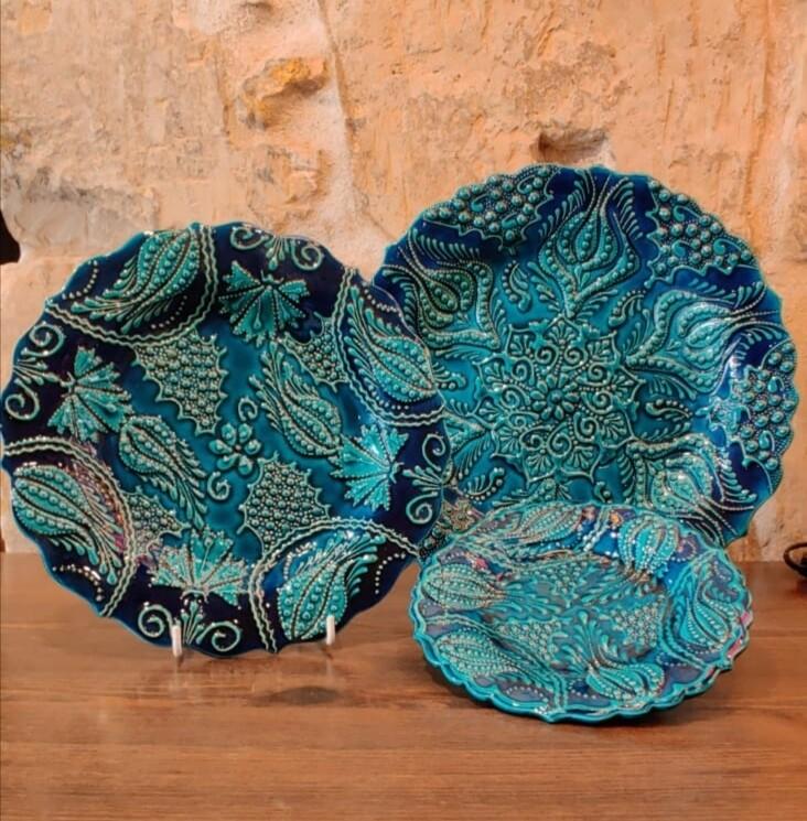 Turquoise Plates