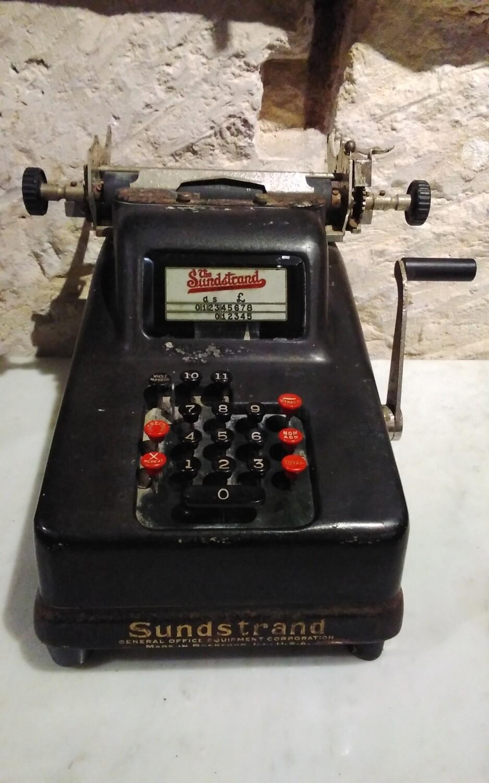 Speed Adding Machine 1920s
