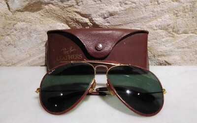 Ray Ben Leathers Bausch & Lomb