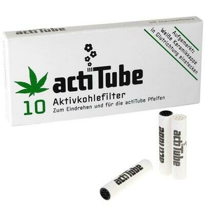 ActiTube Charcoaled  Filters for Pipes 9mm
