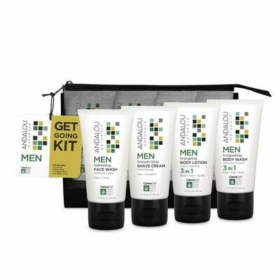 Andalou Naturals CannaCell MEN Get Going Kit, 1 Count