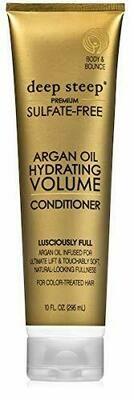 Deep Steep Argan Oil Hydrating Volume Hair Conditioner, 10 fl Ounce
