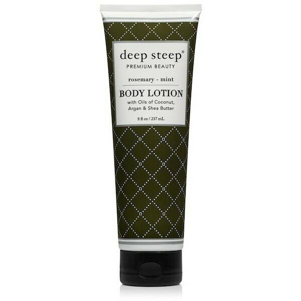 Deep Steep Classic Body Lotion, Rosemary Mint, 8 fl Ounce