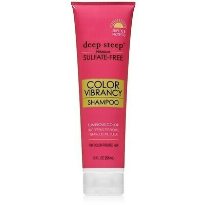 Deep Steep Color Vibrancy Hair Shampoo, 10 fl Ounce
