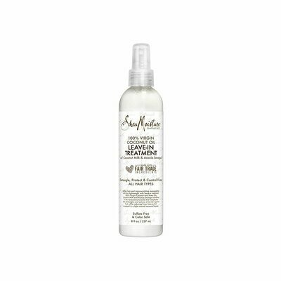Shea Moisture 100% Virgin Coconut Oil Leave-in Treatment, 8 fl Ounce