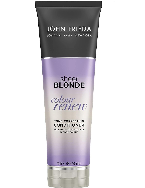 John Frieda Sheer Blonde Colour Renew Tone-Correcting Hair Conditioner, 8.45 Ounce