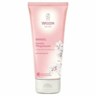 Weleda Soothing Skin Body Wash, Almond, 6.8 Fluid Ounce