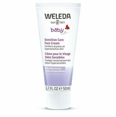 Weleda Baby Sensitive Care Face Cream, 1.7 fl Ounce