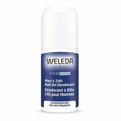 Weleda Mens Herbal 24 Hour RollOn Deodorant, 1.7 Ounce