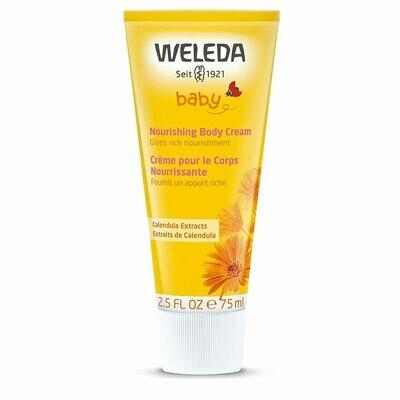Weleda Baby Nourishing Body Cream, 2.5 fl Ounce