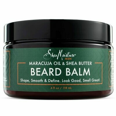 SheaMoisture Mens Beard Balm, 4 fl Ounce