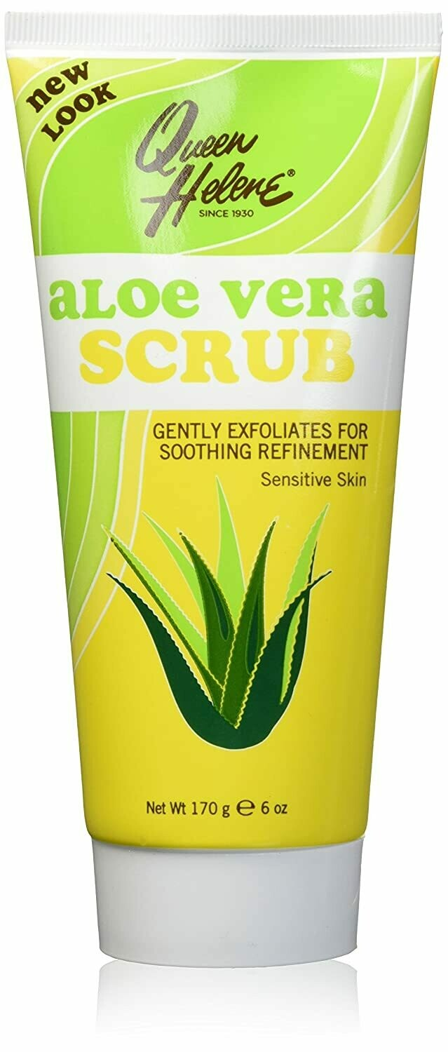 Queen Helene Aloe Vera Facial Scrub, 6 Ounce