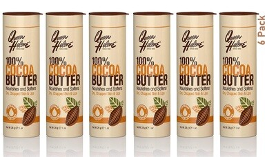 Queen Helene Cocoa Butter Stick, 1 Ounce, Pack of 6