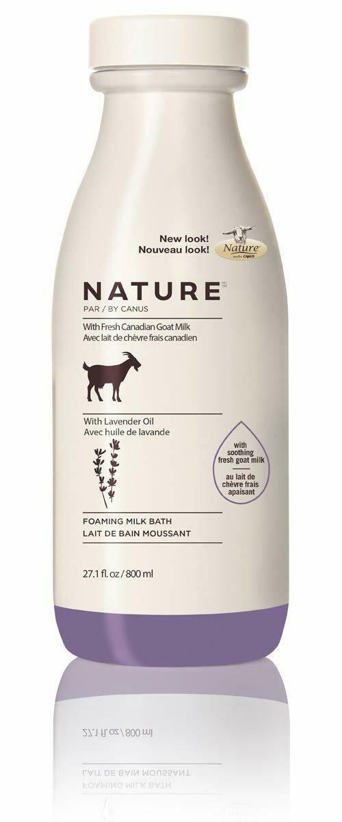 Nature by Canus Foaming Lavender Milk Bath, 27.1 fl Ounce