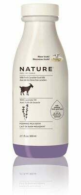 Nature by Canus Foaming Lavender Milk Bath, 27.1 fl Ounce