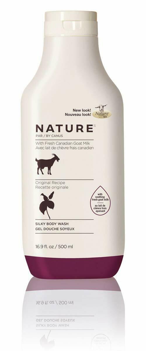 Nature By Canus Fresh Goats Milk Body Wash, Original Formula, 16.9 Ounce