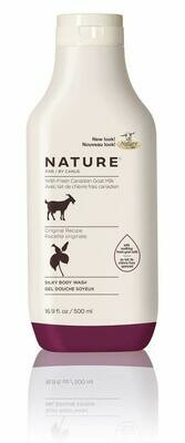 Nature By Canus Fresh Goats Milk Body Wash, Original Formula, 16.9 Ounce