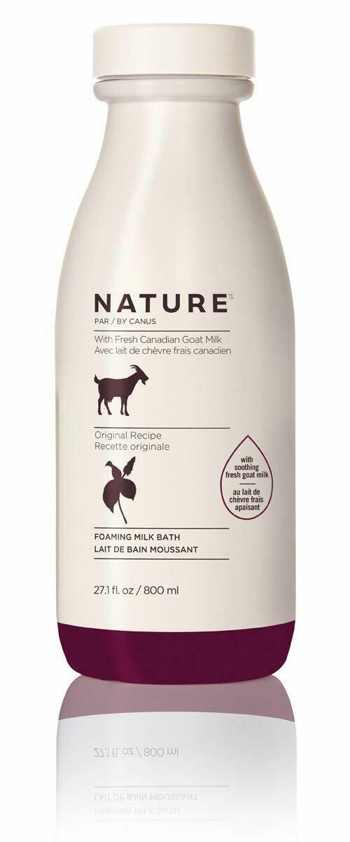 Nature by Canus Original Foaming Milk Bath, 27.1 fl Ounce