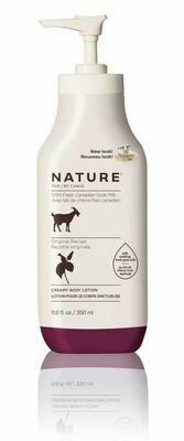 Nature By Canus Lotion Goats Milk, Nature Original Formula,11.8 fl Ounce