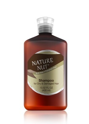 Nature Nut Shampoo for Dry and Damaged Hair, 13.5 fl Ounce