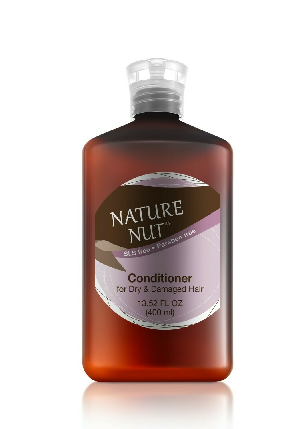 Nature Nut Conditioner for Dry and Damaged Hair, 13.5 fl Ounce