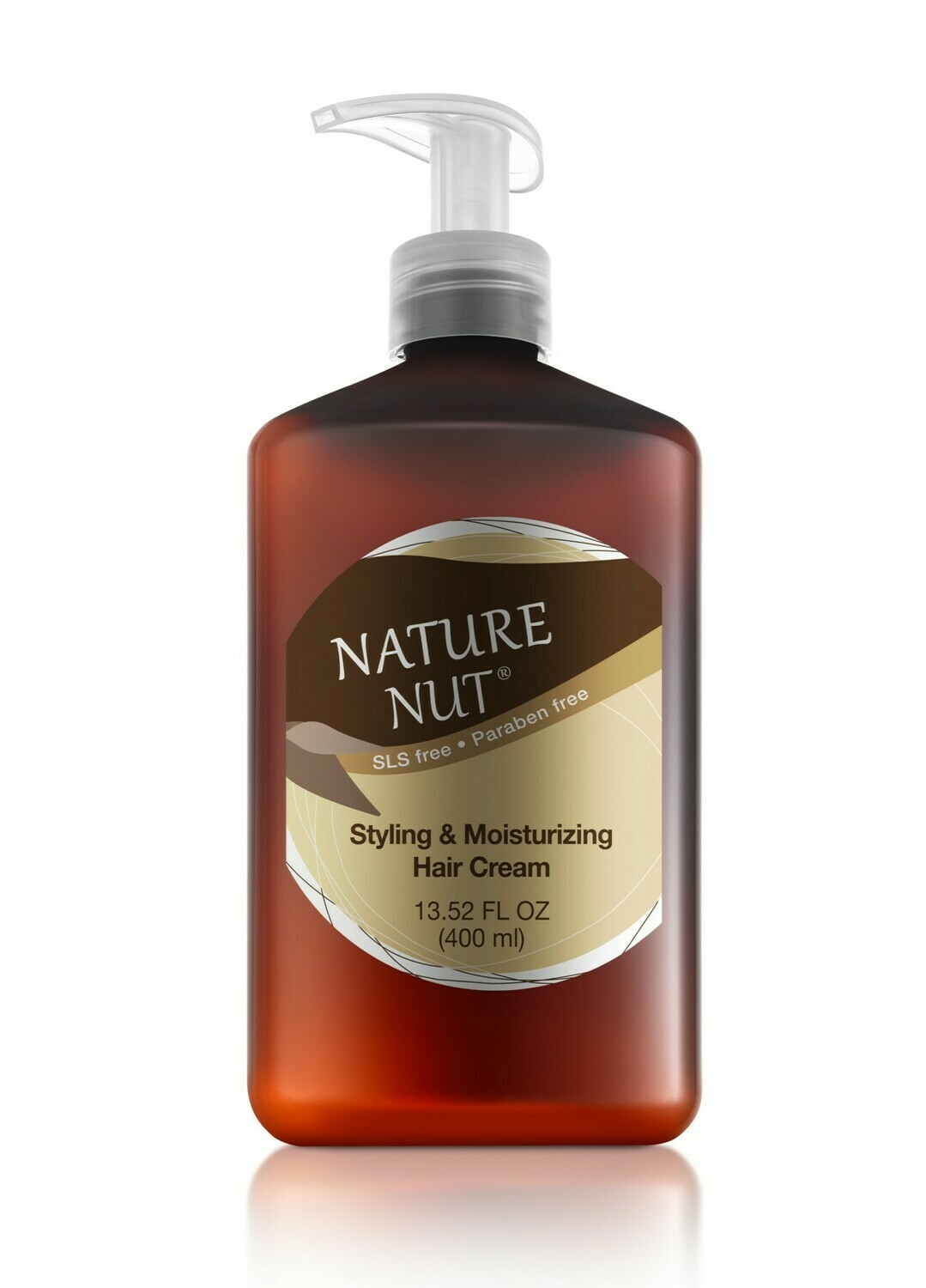 Nature Nut Styling and Moisturizing Hair Cream, 13.5 fl Ounce
