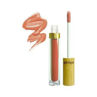 Noyah All Natural Summertime Peach Lip Gloss, 0.19 Ounce