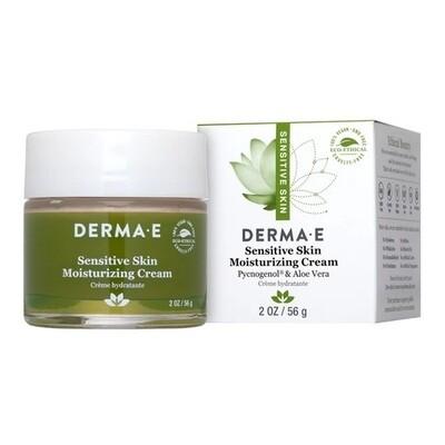 Derma E Sensitive Skin Moisturizing Cream, 2 Ounce