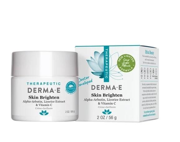 Derma E Skin Brightening Cream with Vitamin C, 2 Ounce