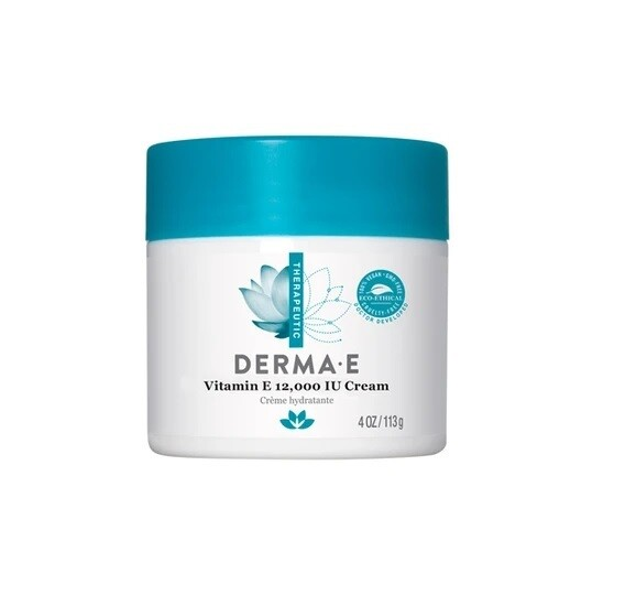 Derma E Vitamin E 12,000 IU Cream, 4 Ounce