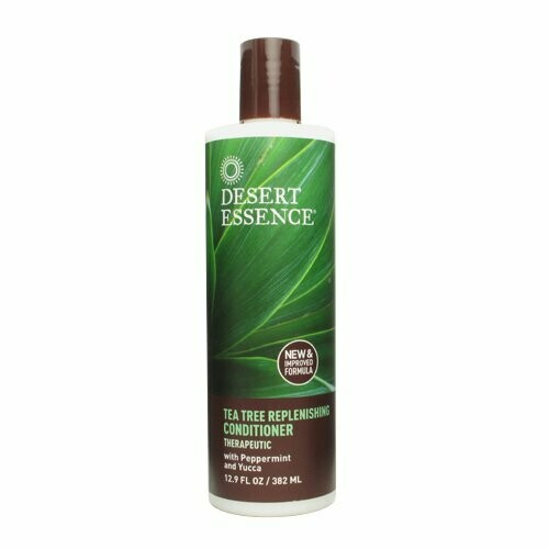 Desert Essence Daily Replenishing Tea Tree Hair Conditioner, 12.9 Ounce