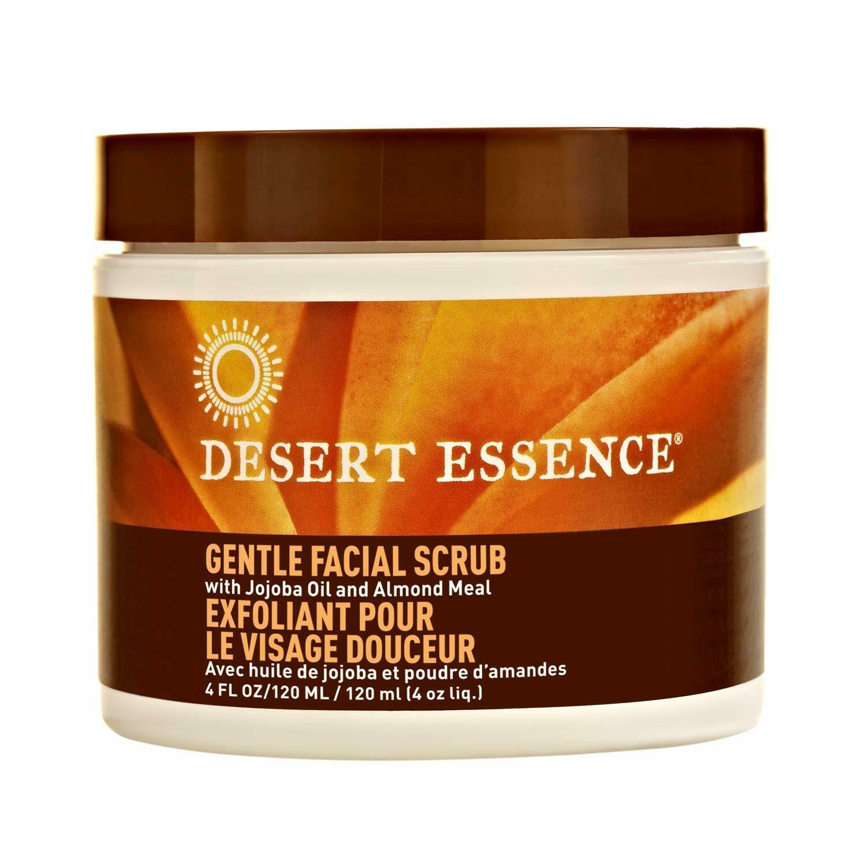 Desert Essence Gentle Facial Scrub, 4 fl Ounce