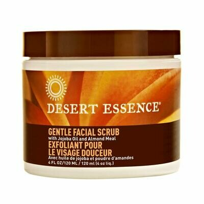 Desert Essence Gentle Facial Scrub, 4 fl Ounce