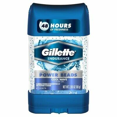 Gillette Antiperspirant Deodorant for Men, Cool Wave Scent, 2.85 Ounce