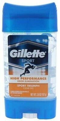 Gillette Sport AntiPerspirant and Deodorant Clear Gel, Sport Triumph, 3.8 Ounce