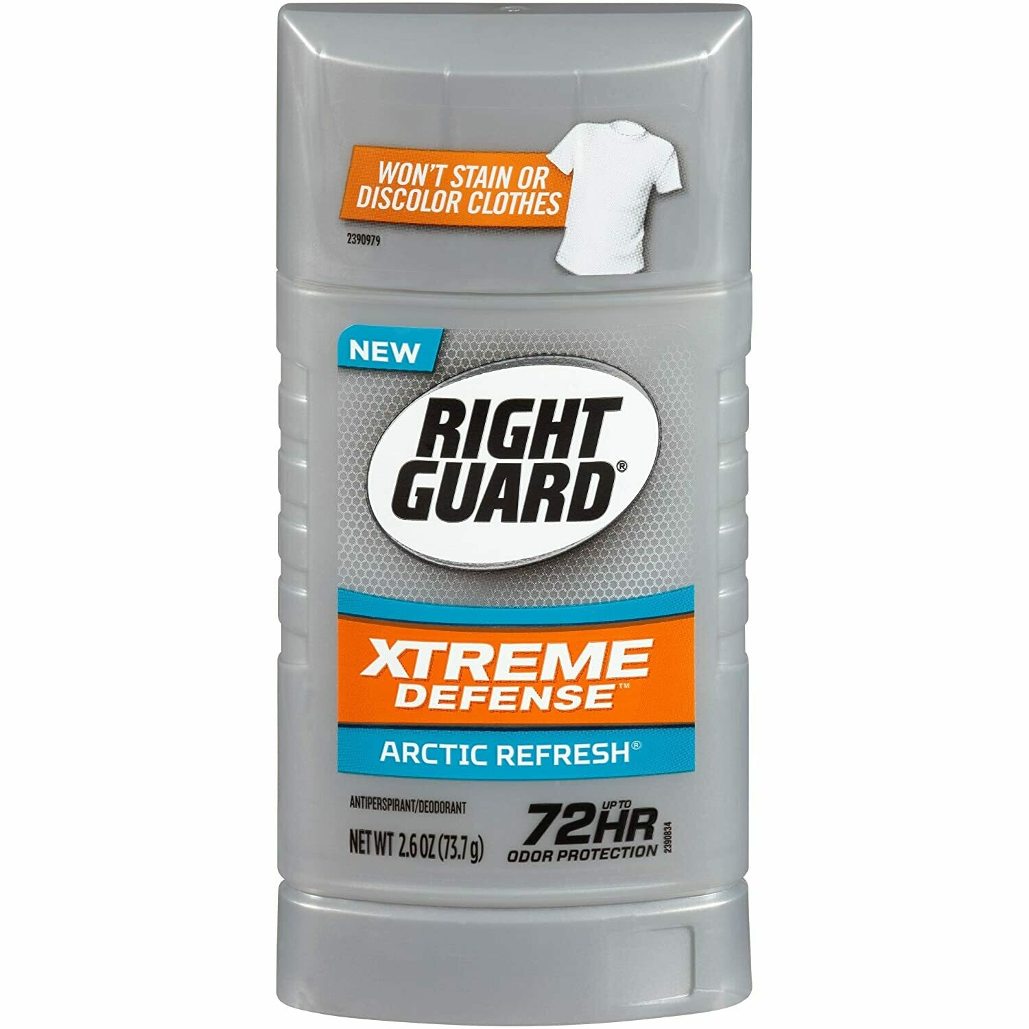 Right Guard Antiperspirant Deodorant, Arctic Refresh, 2.6 Ounce