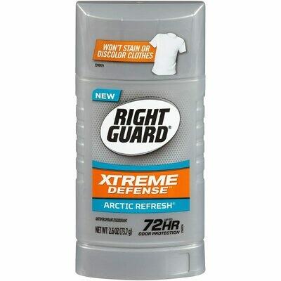 Right Guard Antiperspirant Deodorant, Arctic Refresh, 2.6 Ounce