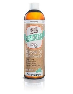 Dr Gingers Coconut Oil Mouthwash, Coconut Mint, 12 fl Ounce