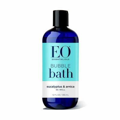 EO Bubble Bath Eucalyptus and Arnica, 12 Ounce