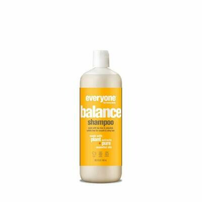 Everyone Balancing Hair Shampoo, Sulfate Free, Paraben Free, 20.3 Ounce