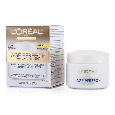 LOreal Paris Skincare Age Perfect Day Cream, 2.5 Ounce